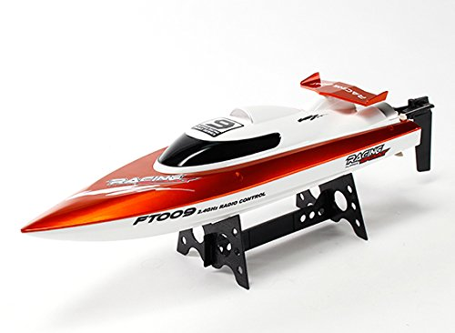 FT009 High Speed V-Hull Racing Boat Boat Boat 460mm - Orange (RTR) 117ac4
