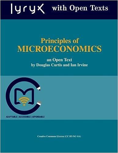 Principles Of Microeconomics Douglas Curtis Ian Irvine