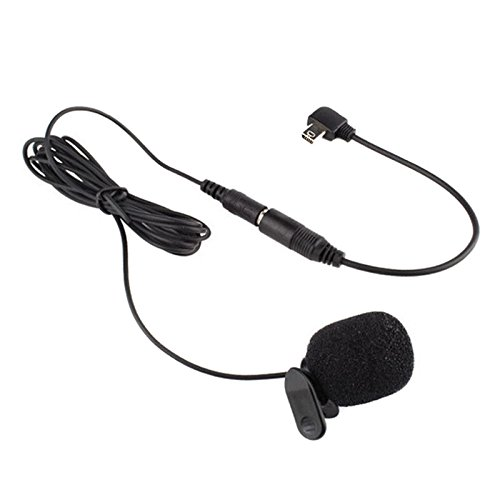 3.5mm External Microphone Clip On Mic for GoPro Hero 3 3+ 4 - 8
