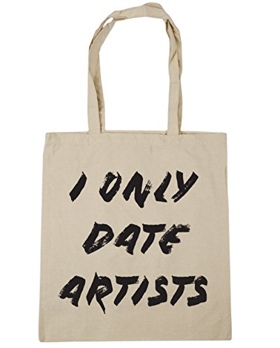 Artists Gym Tote x38cm Bag Natural HippoWarehouse I 10 Beach Shopping Only 42cm Date litres 1wZWgqYt