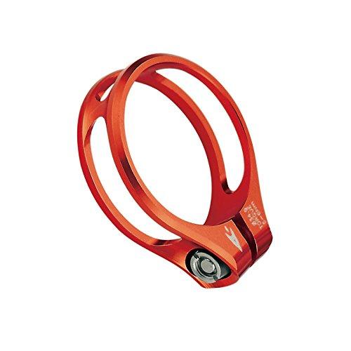 Aerozine XSC1.0 Road MTB Seatpost Clamp Titanium-bolt 31.8mm 11g Orange by Aerozine