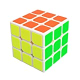 Rubiks Cube 3x3x3, MerryNine Rubix Speed Magic Puzzle Cube Brain Teaser Durable Smooth Twisty Proffessional Colorful Portable For Adults International Competition Instruction Education