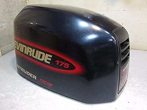 0285114 Engine Cover Evinrude Outboard Ficht Dark Blue Motor Cover 175hp - Evinrude Ficht Outboards
