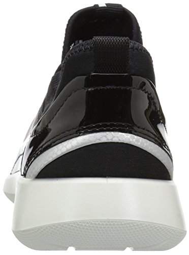 5 Soft 51052black Damen Schwarz Sneakers Ecco Black qHfwAEx