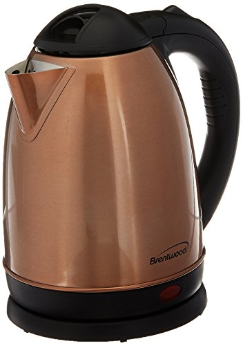 Brentwood KT-1790RG Electric Stainless Steel Kettle 1.7 Lite