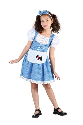 [Small Girls Dorothy Costume] (Dorothy Costume Uk)