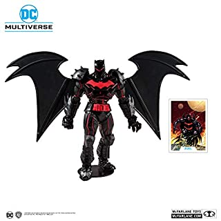 McFarlane Toys DC Multiverse Batman: Hellbat Suit Action Figure, Multicolored