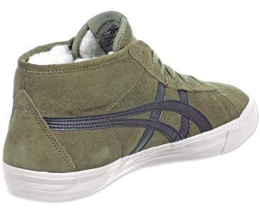 Asics ONITSUKA TIGER FADER Khaki Suede Leather Unisex Sneakers Shoes 2014 unisex 6QJpn4O
