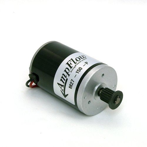 AmpFlow M27-150-P Brushed Electric Motor, 150W, 12V, 24V ...