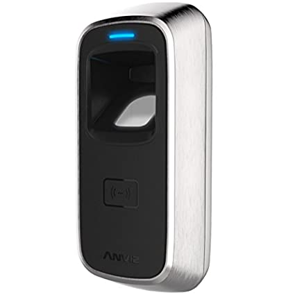 ANVIZ M5 Em Control Acceso, Lector biométrico, RFID EM Card, IP65, Negro