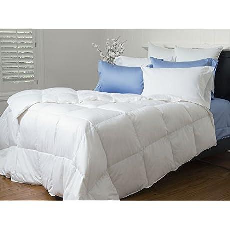 Mendocino Medium Weight White Goose Down Comforter Level 2 White King