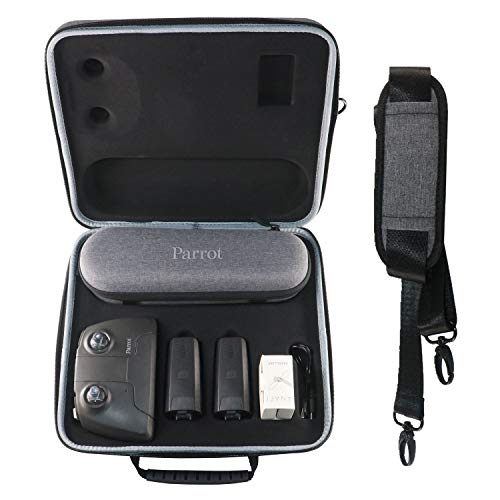 Shoulder Case Suitcase for Parrot ANAFI Drone Accessories Helistar Handheld Portable Travel Protective Storage bag, Stock for ANAFI Drone Remote Controller and Batteries by Helistar