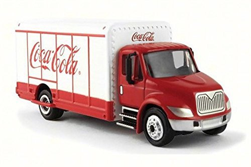 (Motor city classics Coca-Cola Beverage Truck, White 870001 - 1/87 Scale Diecast Model Toy)