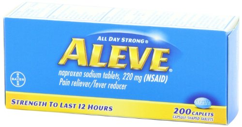 Aleve Caplets, 200 Count (pack of 2)