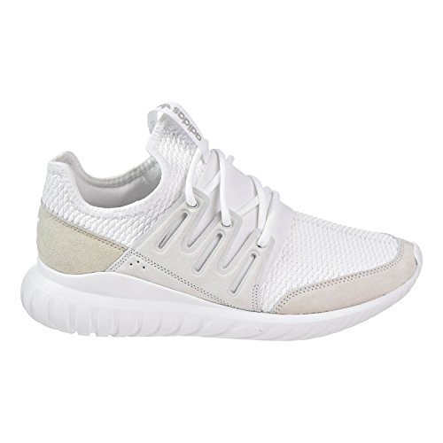 adidas Tubular Radial Women Shoes White/White/LGH Solid Grey s76720 (9 M US)