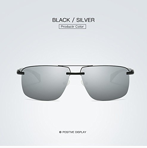 Carrera Gafas Para Nuevas Ciclismo BlackBoxSilver Cintas Elegantes De Sol Esquí LQABW BlackBoxSilver Con De Polarizadas Gafas Clásicas 1wd5q6g