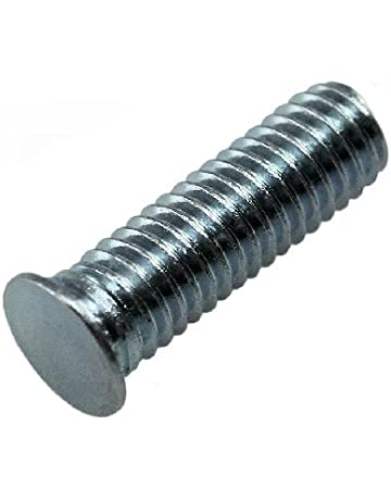 Unicorp EFHS-0420-12 Round Captive Stud Flush Threaded 1//4-20 THD x .750 lg Stainless QTY-10