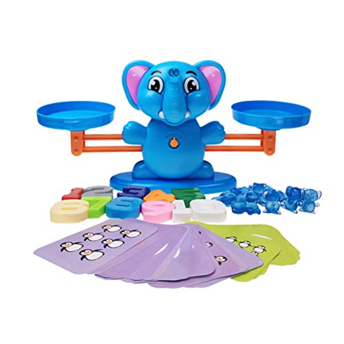 TOYANDONA Juguete balanza niño con números para bebés Niños Juguetes educativos matemáticas Inteligencia Aprendizaje...