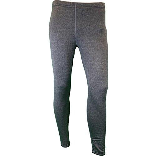 (KENYON Women's Polartec Power Stretch Fleece Tights, Grey, Medium)