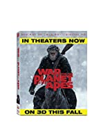 War for the Planet of the Apes (3D BD + BD + Digital HD) [Blu-ray]