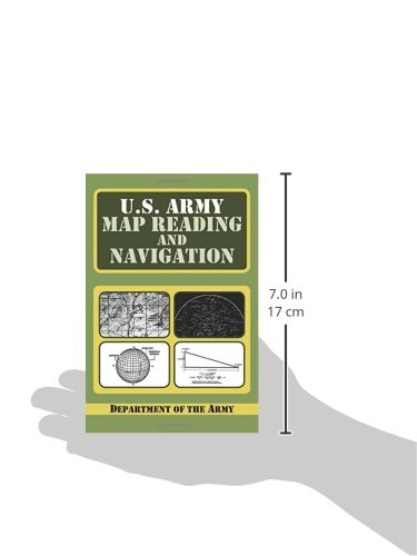 US Army Guide To Map Reading And Navigation Amazoncouk Army - Us army guide to map reading and navigation