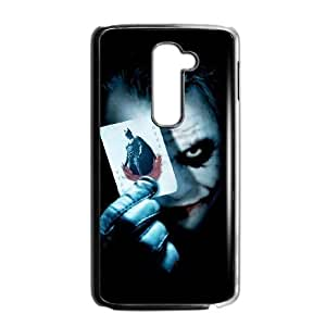 Special Design Cases LG G2 Cell Phone Case Black The Joker Rwdru Durable Rubber Cover