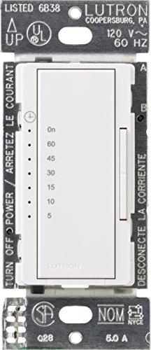- Lutron MA-T530G-WH Maestro eco-timer Single-Pole, White