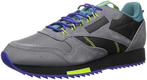 Reebok Men s Classic Leather Sneaker, Grey Mineral Mist, 9.5 M US