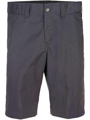 Dickies Charcoal Slim Industral Shorts