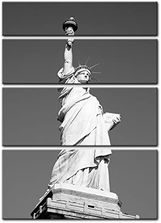 Bilderdepot24 Cuadros en Lienzo Statue of Liberty - New York USA - 30 x 40 cm - Listo tensa, Directamente Desde el Fabricante: Amazon.es: Hogar
