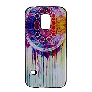 HJZ Oil Painting Pattern Back Case Cover for Samsung Galaxy S5 Mini G800