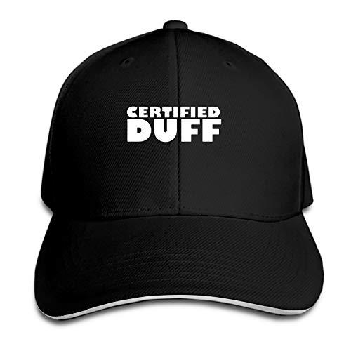 BaiGrid Certified Duff Snapback Cap Flat Bill Hats Adjustable Blank Caps for Men Women -