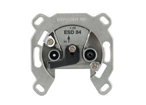 Kathrein ESD 84 Antennen-Steckdose, breitbandiger Einzel-Typ