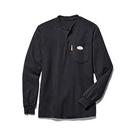 Men's Henley T-Shirt Long Sleeve