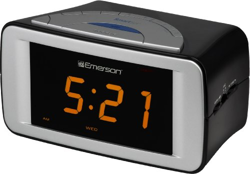 Emerson CKS9051 SmartSet Dual Alarm Clock Radio (Discontinued by Manufacturer)