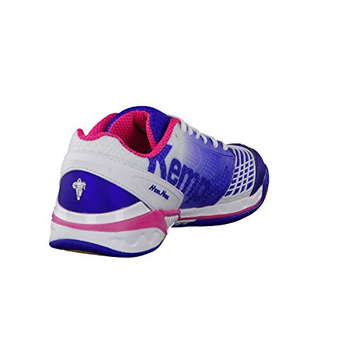 One Attack weiß Handballschuhe Damen blau pink elektric Kempa vx4qY5dq