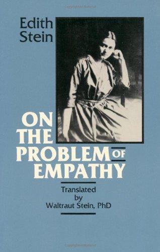 edith stein atheist empathy dissertation