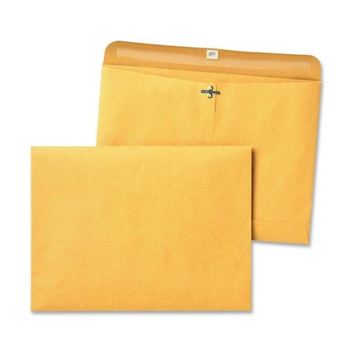 Wholesale CASE of 10 - Quality Park Redi-File Clasp Envelopes-Clasp Envelopes, Side-Open, 28 lb., 9