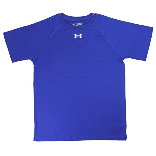 Under Armour Boy's UA Locker T-Shirt Royal/White S