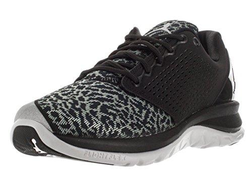 Nike Jordan Trainer St, Scarpe Sportive Uomo Nero / Bianco / Grigio (Nero / Bianco-grigio-lupo Grigio-cl)