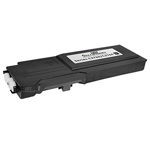 Speedy Inks - Compatible Dell 331-8429 W8D60 Extra High Yield Black Toner Cartridge for use in Dell 3760DN, 3760N, & 3765dnf