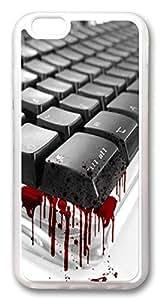 iphone 6 plus 5.5inch CaseBloody Keyboard TPU Custom iphone 6 plus 5.5inch Case Cover