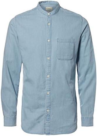 SELECTED HOMME Shhonenolan-China Shirt LS Camisa para Hombre ...