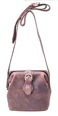 Gootium 40754 Top Quality Genuine Leather Ladies Cross Body Bag