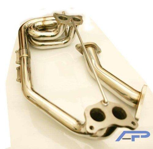Agency Power Headers - Agency Power (AP-GDA-175) Unequal Length Header, Stainless Steel