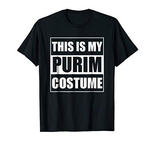 This Is My Purim Costume Jewish Purim T-Shirt -