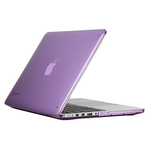 (Speck Products SmartShell Case for MacBook Pro 13-Inch with Retina Display, Haze Purple)