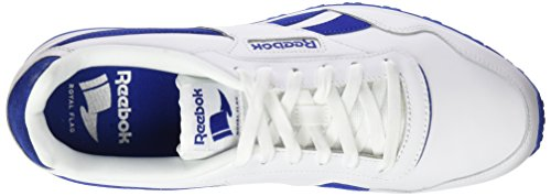 Lx Royal Homme Sneakers Royal steel Glide Blanc white Basses collegiate Reebok qaB4wa
