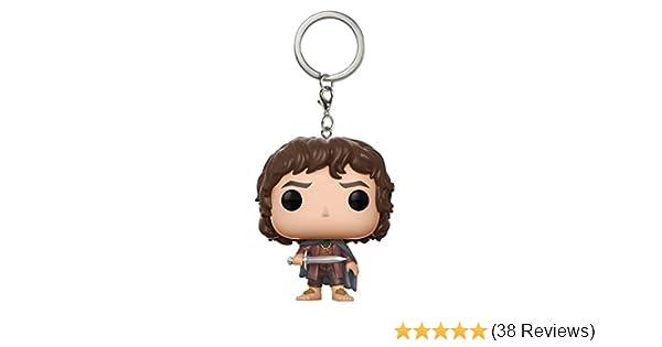 Pocket Pop Keychain Frodo LOTR//Hobbit Llavero de Vinilo Lord of the Rings Funko 14037