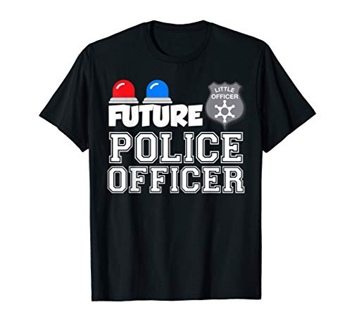 Future Police Officer Child Kids Youth Gift T-Shirt]()